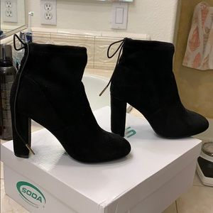 BRAND NEW Heeled Ankle Sock Booties